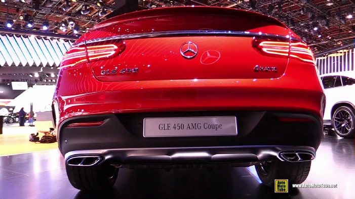 Mercedes Benz Gle Coupe >> 2016 Mercedes-Benz GLE-Class GLE45 AMG Coupe at 2015 ...