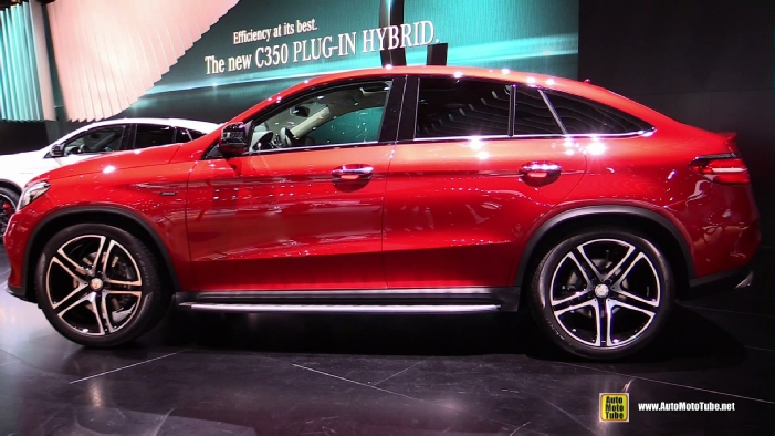 2016 Mercedes Benz Gle Class Gle45 Amg Coupe At 2015 Detroit Auto Show