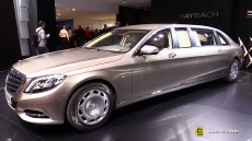 2016 Mercedes Maybach S600 Pullman Limo at 2015 Geneva Motor Show