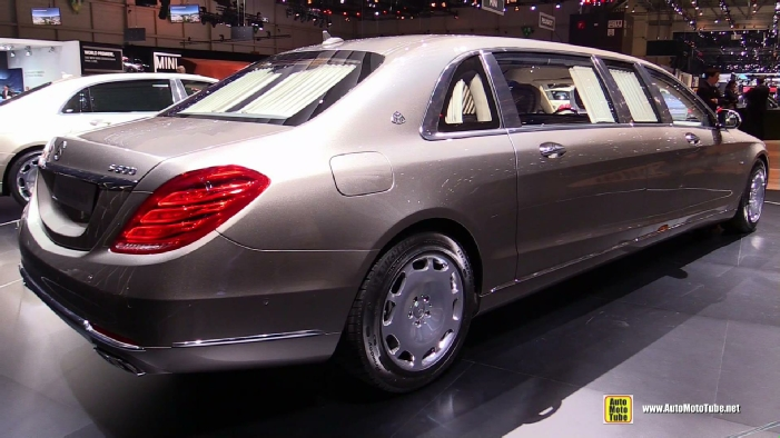 2016 Mercedes Maybach S600 Pullman Limo at 2015 Geneva ...