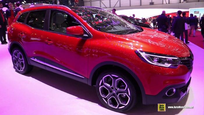 2016 Renault Kadjar At 2015 Geneva Motor Show