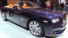2016 Rolls-Royce Dawn at 2015 Frankfurt Motor Show