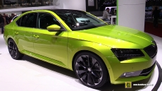 2016 Skoda Superb at 2015 Geneva Motor Show