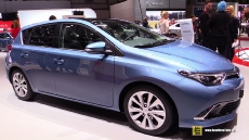 2016 Toyota Auris at 2015 Geneva Motor Show