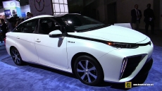 2016 Toyota Mirai Fuel Cell Vehicle at 2014 Los Angeles Auto Show