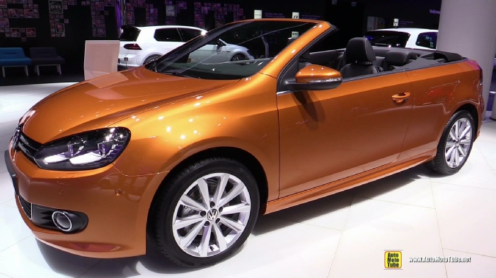 2016 volkswagen golf cabriolet at 2015 frankfurt motor show. Black Bedroom Furniture Sets. Home Design Ideas
