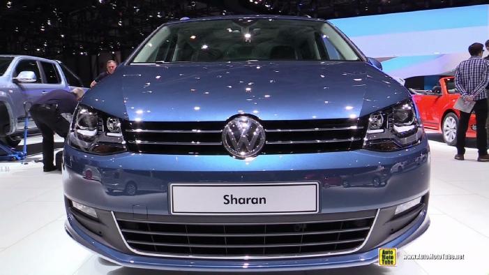 2016 Volkswagen Sharan Tdi At 2015 Geneva Motor Show