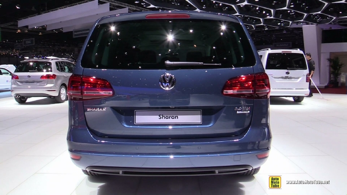 2016 volkswagen sharan tdi at 2015 geneva motor show. Black Bedroom Furniture Sets. Home Design Ideas