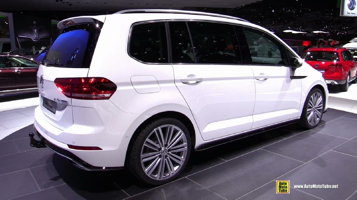 2016 volkswagen touran tdi r line at 2015 geneva motor show. Black Bedroom Furniture Sets. Home Design Ideas