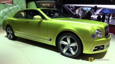 2017 Bentley Mulsanne Speed at 2016 Geneva Motor Show