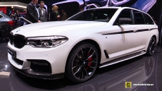 2017 Bmw 520d Touring At Geneva Motor Show