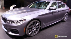 2017 BMW 540i at 2017 Detroit Auto Show