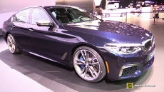 2017 BMW M550i xDrive at 2017 Detroit Auto Show