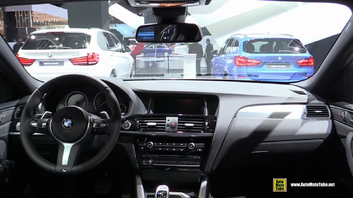 2017 BMW X4 M40i At 2016 Detroit Auto Show