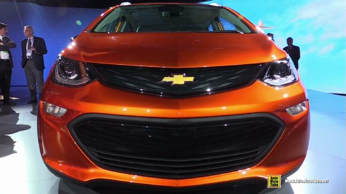 2017 Chevrolet Bolt Ev At 2016 Detroit Auto Show