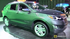 2017 Chevrolet Equinox at 2017 Detroit Auto Show