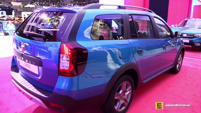 2017 dacia logan mcv stepway at 2017 geneva motor show. Black Bedroom Furniture Sets. Home Design Ideas