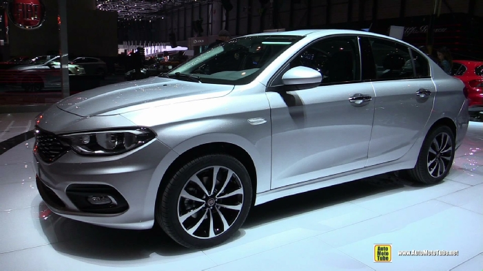 2017 fiat tipo at 2016 geneva motor show. Black Bedroom Furniture Sets. Home Design Ideas