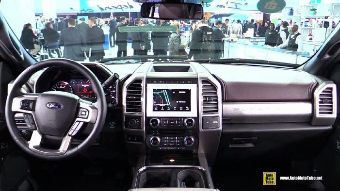 2020 Ford F250 Super Duty Platinum Exterior Interior Walkaround 2020 ...