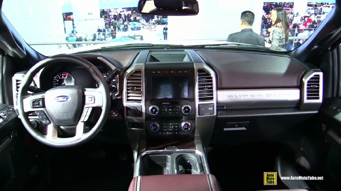 2017 ford f350 super duty platinum at 2017 detroit auto show