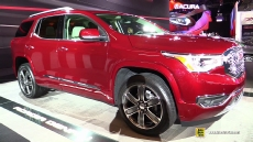 2017 GMC Acadia Denali at 2016 Detroit Auto Show