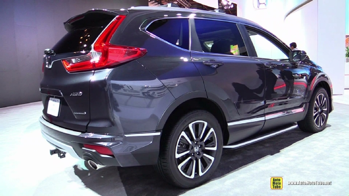 2017 honda crv touring awd at 2017 detroit auto show. Black Bedroom Furniture Sets. Home Design Ideas