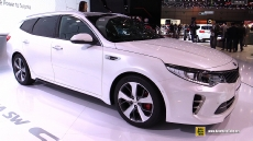 2017 KIA Optima SW GT at 2016 Geneva Motor Show