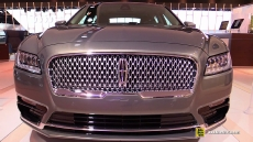 2017 Lincoln Continental at 2016 Detroit Auto Show