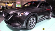 2017 Mazda CX9 at 2016 Detroit Auto Show