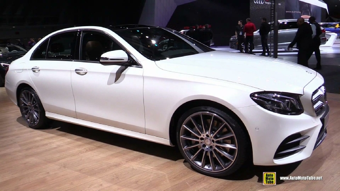 2017 mercedes e300 at 2016 detroit auto show. Black Bedroom Furniture Sets. Home Design Ideas