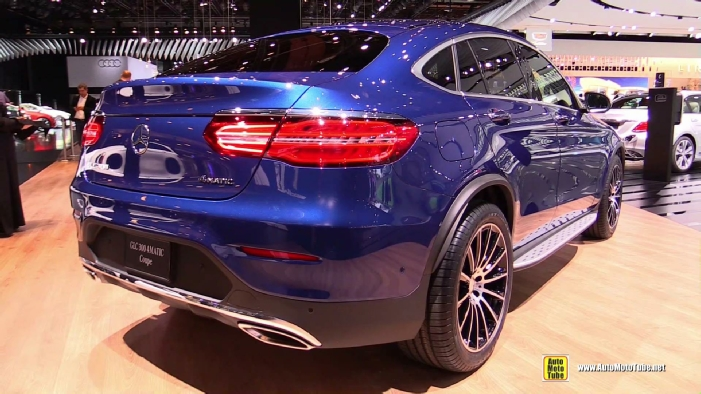 Indian Motorcycles 2015 >> 2017 Mercedes GLC300 Coupe at 2017 Detroit Auto Show