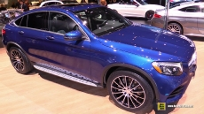 2017 Mercedes GLC300 Coupe at 2017 Detroit Auto Show