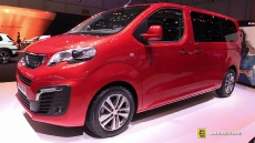 2017 Peugeot Traveller at 2016 Geneva Motor Show