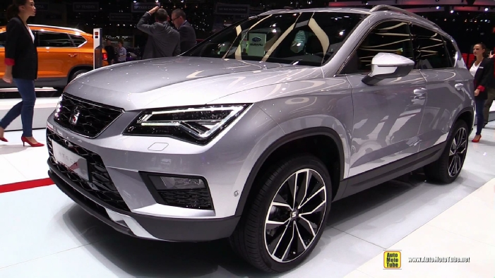 2017 seat ateca at 2016 geneva motor show. Black Bedroom Furniture Sets. Home Design Ideas