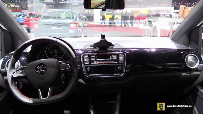 2017 Skoda Citigo At 2017 Geneva Motor Show