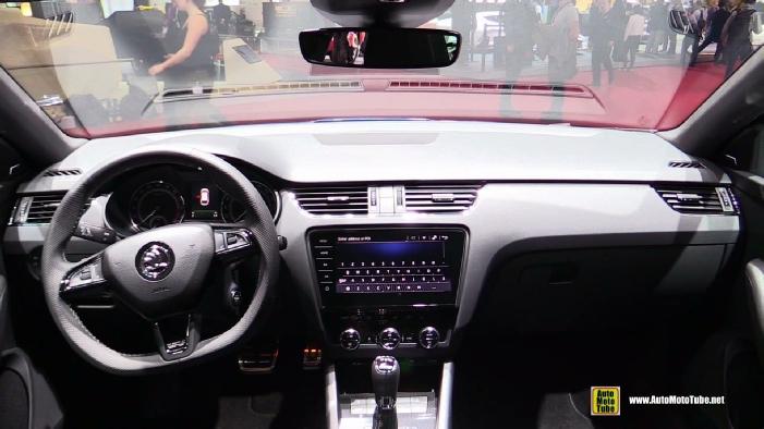 2017 Skoda Octavia Combi RS at 2017 Geneva Motor Show