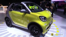 2017 Smart for Two Cabrio at 2016 Detroit Auto Show