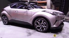 2017 Toyota C-HR at 2016 Geneva Motor Show