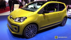 2017 Volkswagen Up at 2016 Geneva Motor Show