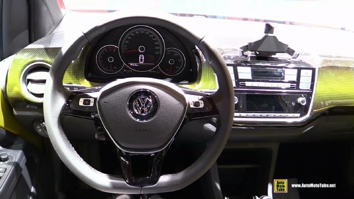 2017 Volkswagen Up at 2016 Geneva Motor Show