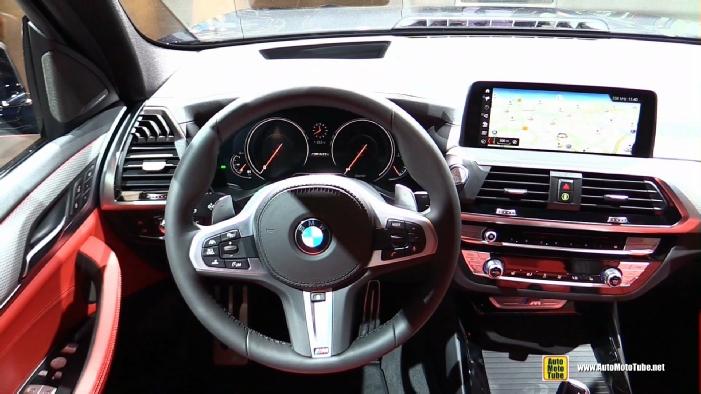 Bmw X3 2017 Interior >> 2018 BMW X3 M40i at 2017 Frankfurt Motor Show