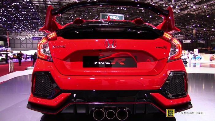 2018 Honda Civic Type R at 2017 Geneva Motor Show