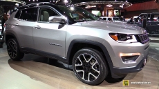 2018 Jeep Compass Limited at 2017 Detroit Auto Show