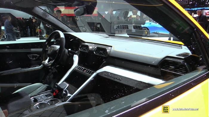 2018 Lamborghini Urus At 2018 Geneva Motor Show