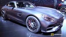 2018 Mercedes AMG GT C Coupe at 2017 Detroit Auto Show