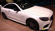2018 Mercedes E400 Coupe at 2017 Detroit Auto Show