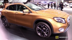 2018 Mercedes GLA250 4Matic at 2017 Detroit Auto Show