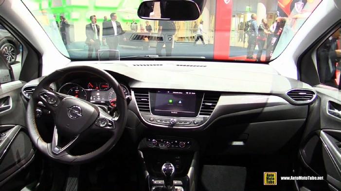 2018 Opel Crossland X At 2017 Frankfurt Motor Show