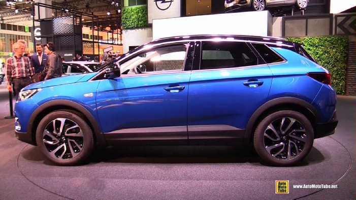 2018 opel grandland x at 2017 frankfurt motor show. Black Bedroom Furniture Sets. Home Design Ideas
