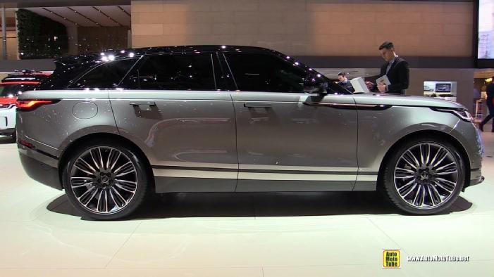 2018 Range Rover Velar At 2017 Geneva Motor Show